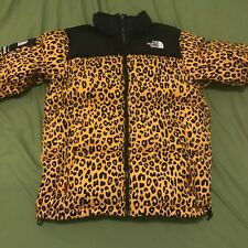 Supreme x The North Face Yellow Leopard Nuptse VNDS