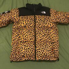 Supreme x The North Face Jaune 2011 OG Leopard Nuptse PDNV (vendeur de confiance)