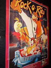 ROCK O' RICO ! don bluth  affiche cinema  animation dessin anime