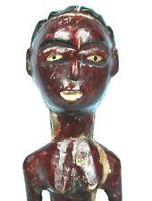 Art Africain - Très Ancien Colon Baoulé sur Socle - Collectionneur d'Afrique +++
