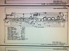 1944 New York Central System Locomotive Mechanical Drawings & Specs. PDF Files