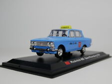 Leo Model 1:43 Moskvitch 408 1964 Saint Petersburg taxi Die-Cast model car
