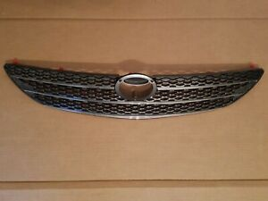 fits 2002-2004 TOYOTA CAMRY LE XLE Front Bumper Radiator Grille Gray w/ Chrome