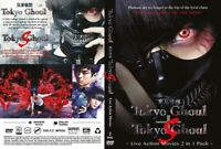 Tokyo Ghoul + Tokyo Ghoul S (2 Movie Set Collection) ~ All Region ~ Brand New ~