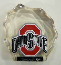 Ohio State University Buckeyes Lucite Paper Weight by Collectors Guild
