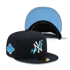 New Era 59Fifty New York Yankees Side Patch Bloom Cap New