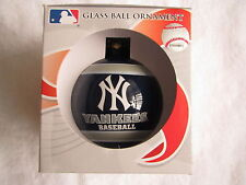 New York Ny Yankees Team Christmas Tree Ball Ornament Mlb Holiday Xmas