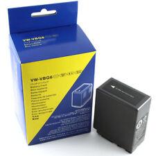 3pcs VW-VBG6 Battery Panasonic AG-AC7 AC130A AC160A AF100 HMC40 HMC70 HMC80