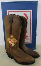 TONY LAMA VM7008 MEN'S BROWN LEATHER WESTERN BOOTS SIZE 8D NEW IN BOX