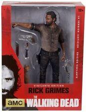 "WALKING DEAD - Rick Grimes 10"" Vigilante Edition Action Figure (McFarlane) #NEW"
