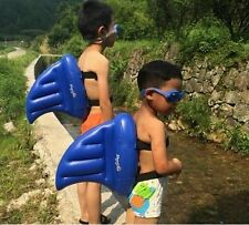 Children Swim Fin Shark Fin  Swimming Buoyancy Aid Training Floats Swim Tool