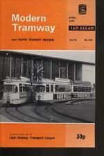 MODERN TRAMWAY MAGAZINE - VOL 38 - No.448 - April 1975