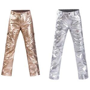 Waterproof Warm Couple Ski Pants Windproof Snow Pants Breathable Skiing Pants