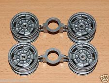 Tamiya 58175 Honda S800 Racing/M02/M05, 9335220/19335220/50708 Ruedas (4 piezas).