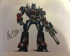 Autographed Peter Cullen signed Optimus Prime Transformers 11x14 w/JSA