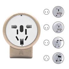 World Wide Universal Travel Adapter Multi Plug Charger 2 USB Ports - AU UK EU US