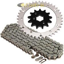 Drive Chain & Sprockets Kit Fits YAMAHA WARRIOR 350 YFM350X 1989-2004