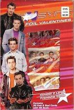 NEW RARE N*SYNC NSYNC VALENTINE'S DAY CARDS DELUXE FOIL VALENTINES JUSTIN