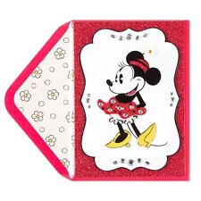"EXTRAORDINARY  Papyrus Birthday Greeting Card  ""Minnie Mouse""  GORGEOUS!!!!!"