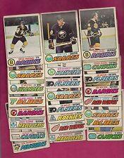 24 X 1977-78 OPC NHL PLAYERS  GOOD CARD  (INV# 9835)