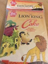 NEW Disney Lion King Cookie Fondant Cutters Simba & Pumba Vintage Rare Cake