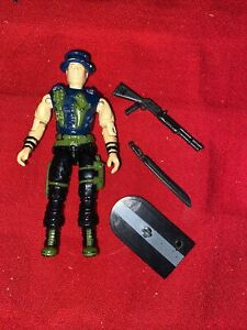 1989 GI JOE NIGHT FORCE MUSKRAT v2 COMPLETE WITH ACCESSORIES NO FILE CARD