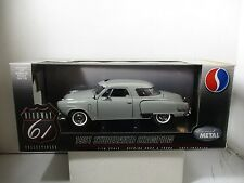 1/18 SCALE HIGHWAY 61 GRAY 1951 STUDEBAKER CHAMPION