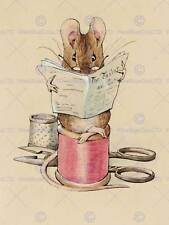 HELEN BEATRIX POTTER THE TAILOR MOUSE ART PRINT POSTER PICTURE HP356