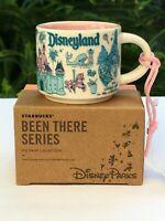 Starbucks Been There Disneyland Happiest Place on Earth 2 oz Mini Mug Ornament