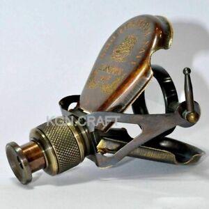 Antique Working Brass Monocular Telescope Vintage Nautical Spyglass scope