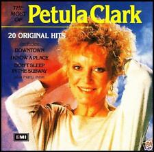 PETULA CLARK - MOST OF CD ~ DOWNTOWN ++++ 60's GREATEST HITS / BEST OF *NEW*