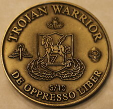 10th Special Forces Group Airborne 3rd BN Army Challenge Coin / 1st Version