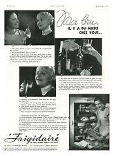 Publicité ancienne Frigidaire ma bru il y a mieux chez vous 1935 issue magazine