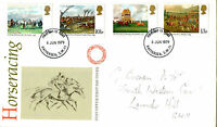 6 JUNE 1979 HORSERACING POST OFFICE FIRST DAY COVER BATTERSEA SW11 FDI
