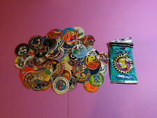 Pogs 120 Miscellaneous Variety + The Simpsons Pack w/5 Pogs & 1 Slammer in Pack