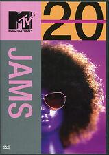 20 JAMS DVD - MUSIC TELEVISION MTV - AEROSMITH & MORE