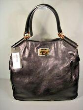 Dolce & Gabbana Black Leather X-Large Handbag Purse Shopping Tote Authentic New