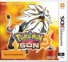 Pokemon Sun Nintendo 3DS Game Brand New Dispatched From Brisbane