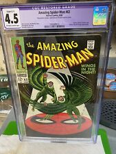AMAZING SPIDER-MAN #60 CGC 4.5(R) ...Wings In The Night!..Double Vulture App