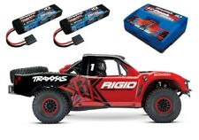 TRAXXAS Unlimited DESERT RACER PRO-scale 4x4 RACING TRUCK IN ROSSO #85076-4rse2