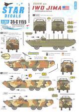 Star Decals 1/35 DUKW ON IWO JIMA DUKW Amphibious 6x6 Truck