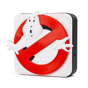 GHOSTBUSTERS 3D DESK LAMP / WALL LIGHT USB / BATTERY POWERED WHO YOU GONNA CALL?