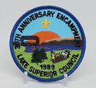 1989 Lake Superior Council 30th Anniversary Encampment Patch BSA Boy Scouts