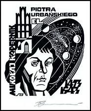 Leonenko Vasyl 1996 Exlibris X3 Astronomer Nicolaus Copernicus Toruń 711