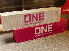 1/87 Herpa Container Set 2x40 ft. ONE ONE 076449-005