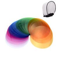 2*Godox V-11T Color Filters Kit Color Gels Filters 16 Colors for Godox V1 Series