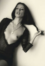 Renée Jacobs Beautiful Nude of Woman with Long Hair, 13x19 Signed Photo