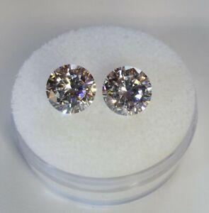 Fabulite strontium titanate ClearAntique/Vintage gemstone.new antique stock fb75
