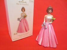 Campus Sweetheart Barbie Hallmark Keepsake Ornament 2011 Pink Christmas New