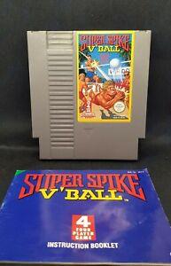 Super Spike V'Ball - Nintendo NES Game - PAL - Multiplayer, Rare cart